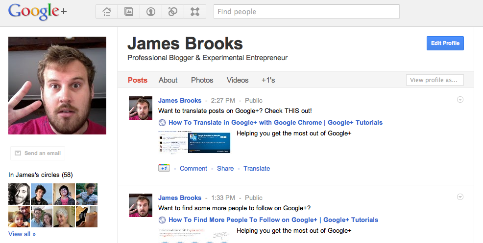Do You Love Google+ Plus?