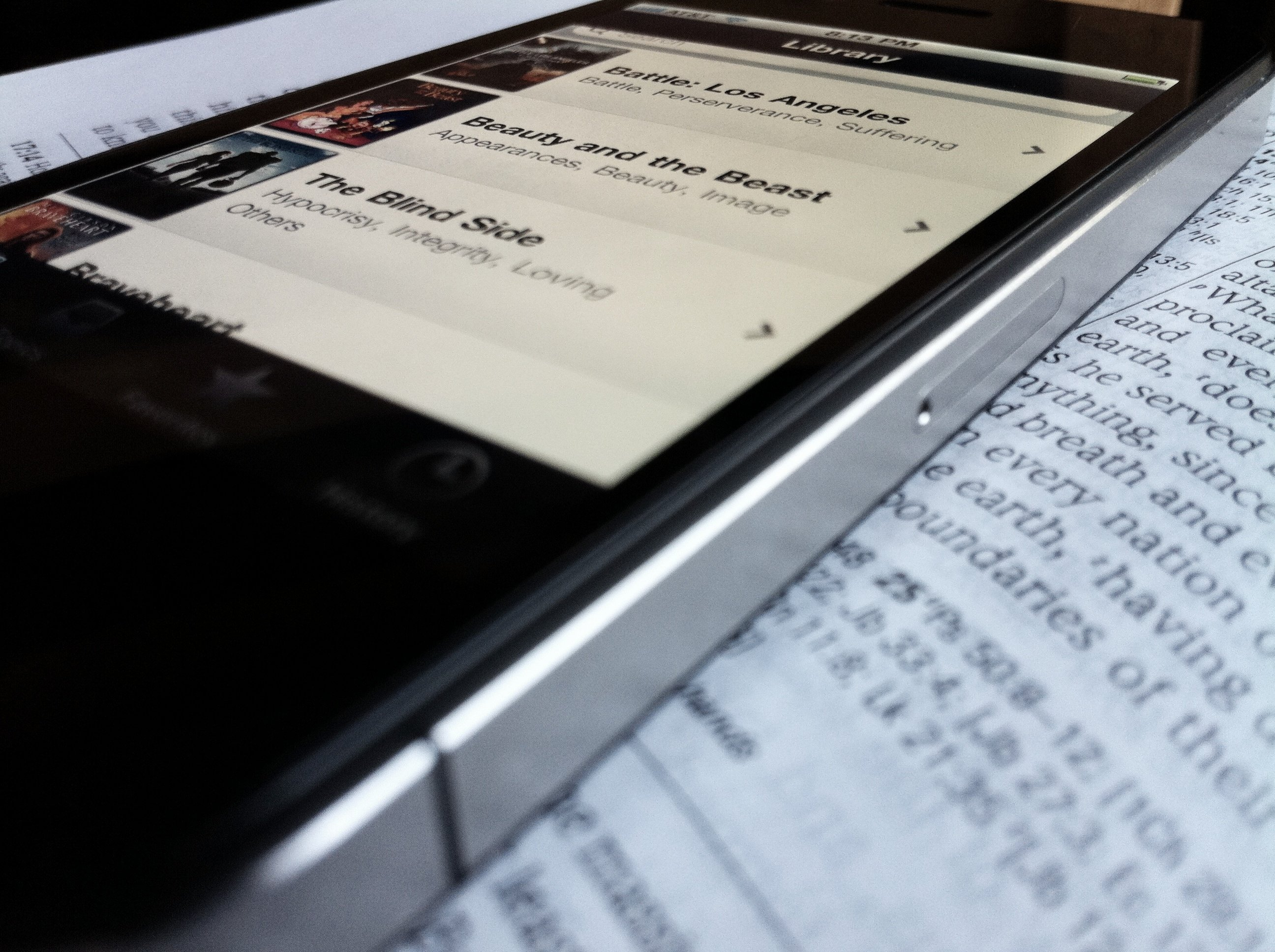 Must-Have Bible Teaching iPhone App