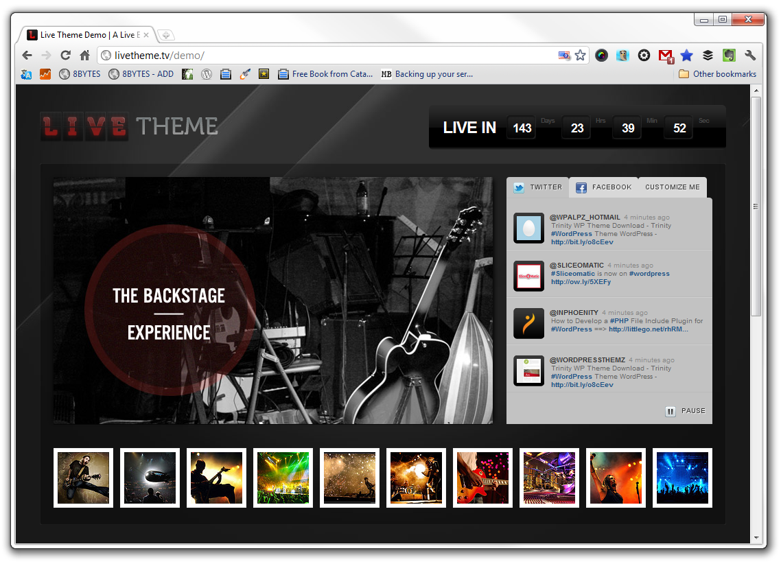 8BIT Releases Live Theme 2.0