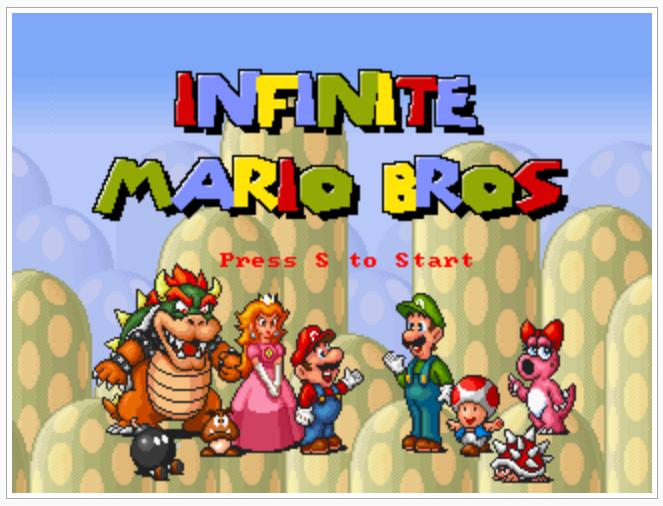 Mario in HTML5 JavaScript