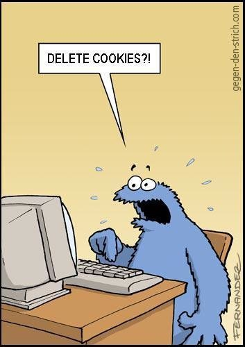 """""""C"""" Is for Cookies [Comic]"""