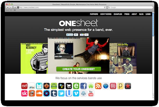 API Awesomeness: OneSheet & The Church?