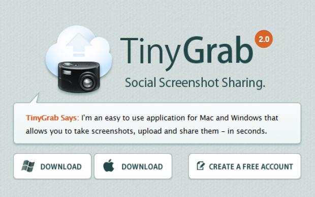 My New Image & Screenshot Share Tool: TinyGrab 2.0