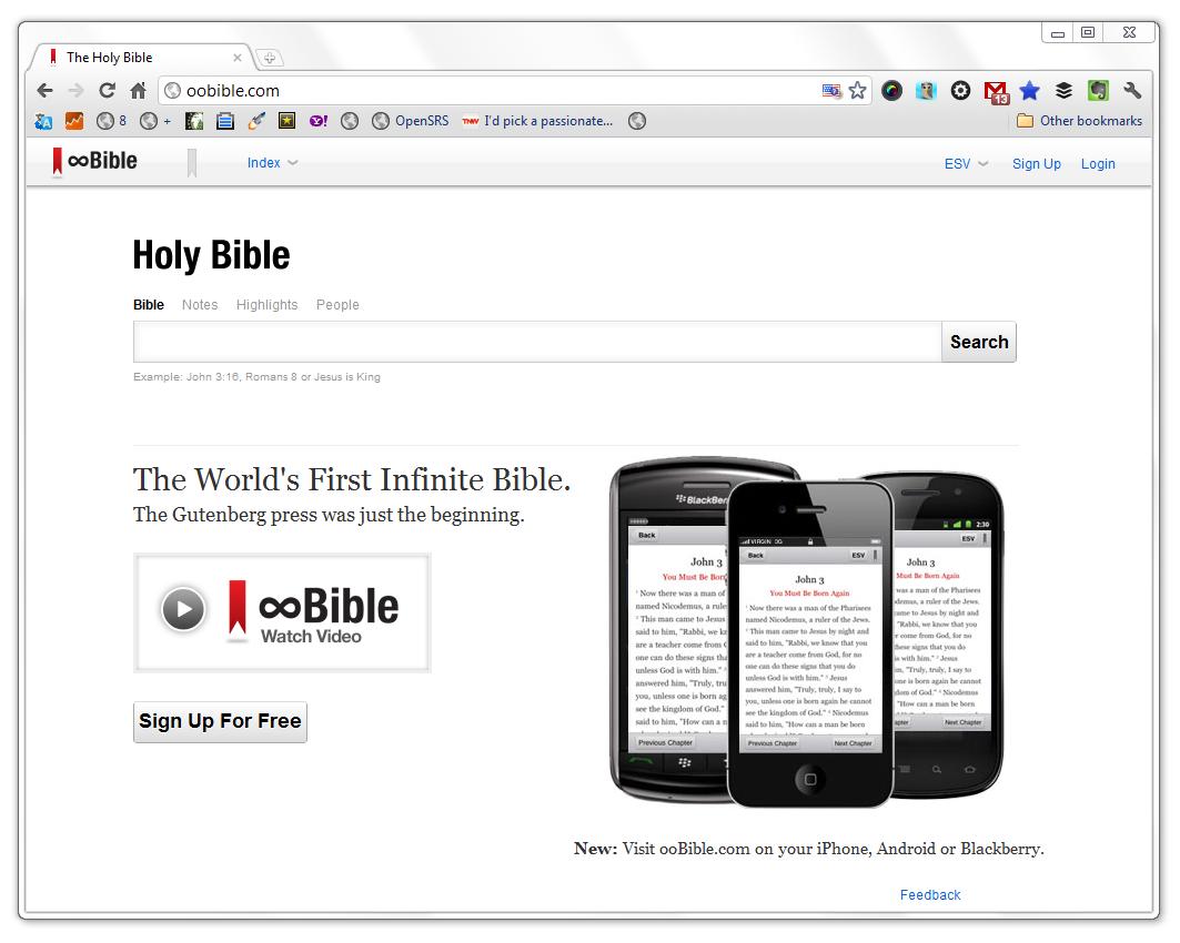 A New Bible at eBible.com