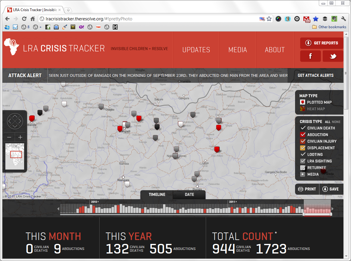 The LRA Crisis Tracker – Awesomeness Applied