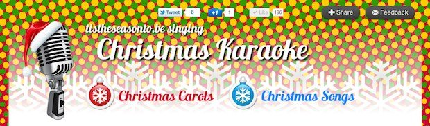 Online Christmas Resource – Christmas Karaoke!