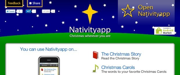 Mobile Christmas Resource – Nativityapp