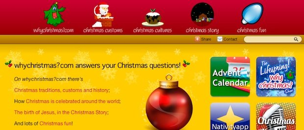 Online Christmas Resource – WhyChristmas.com