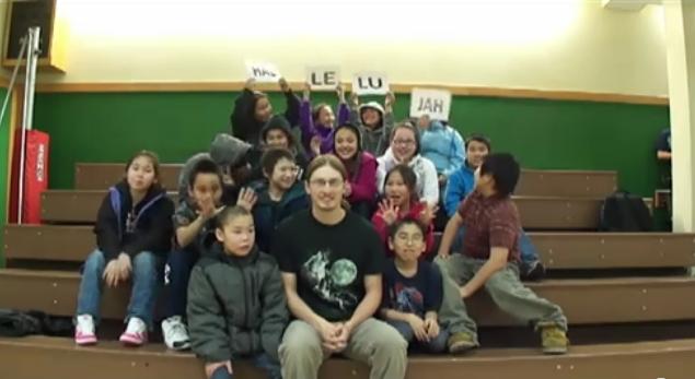 Hallelujah Chorus -Kuinerrarmiut Elitnaurviat 5th Grade - Quinhagak, Alaska
