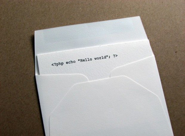 computer code greeting cards