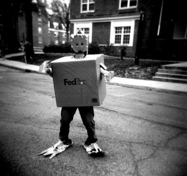 fedex toy shipping box