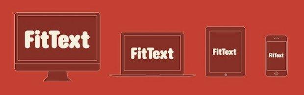 FitText jquery plugin