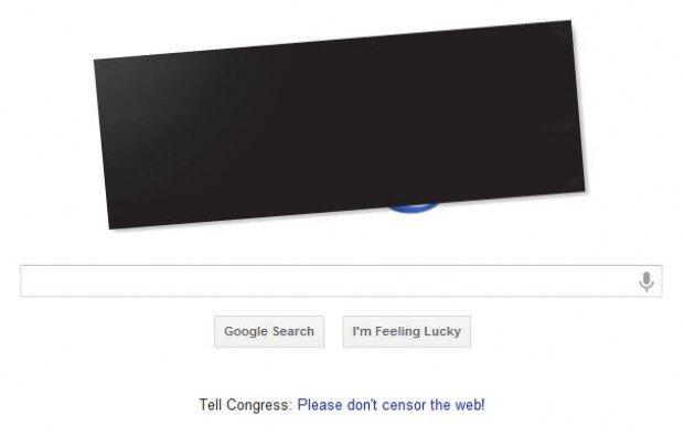 google sopa page