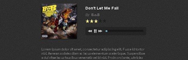 HTML5 Music Player jquery plugin