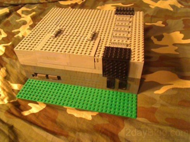 lego 8-bit 8bit nintendo nes working operational