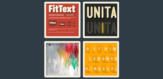 Most Useful jQuery Plugins from 2011 – Web Typography and Animation