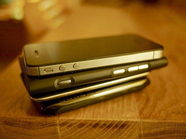 smartphone phone stack