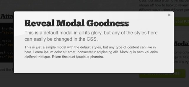 Most Useful jQuery Plugins from 2011 – Modal Window and Mobile Plugins