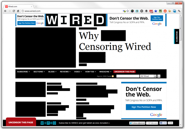 wired sopa page