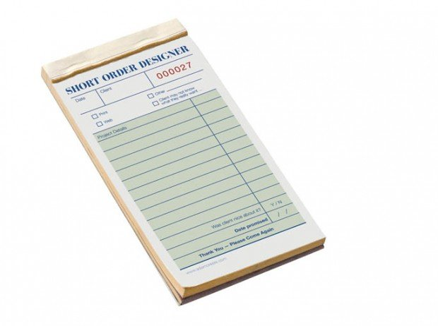 freelance designer notepad