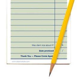 "The ""Short Order Designer"" Analog Notepad"