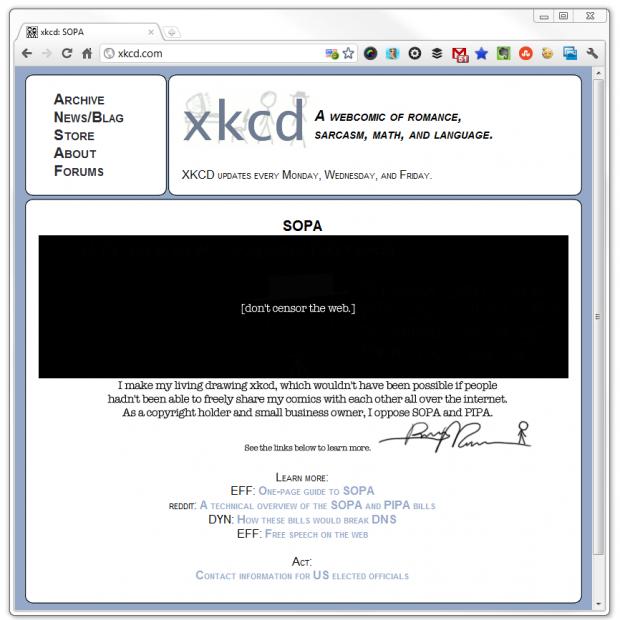 xkcd SOPA