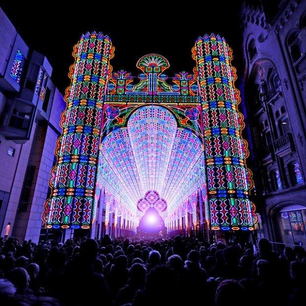 cathedral lights led