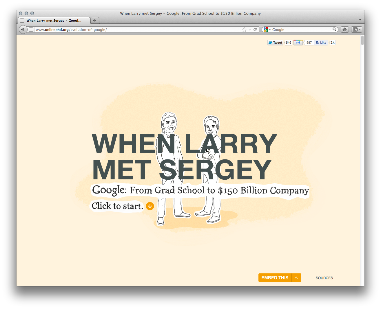 The Evolution of Google [Interactive Timeline] - ChurchMag