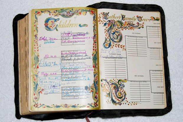 Genealogy Family Bible Project