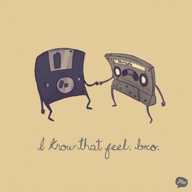 floppy disk cassette tape