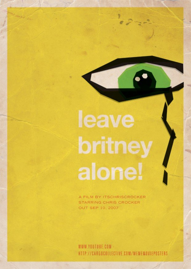 meme movie posters britney spears