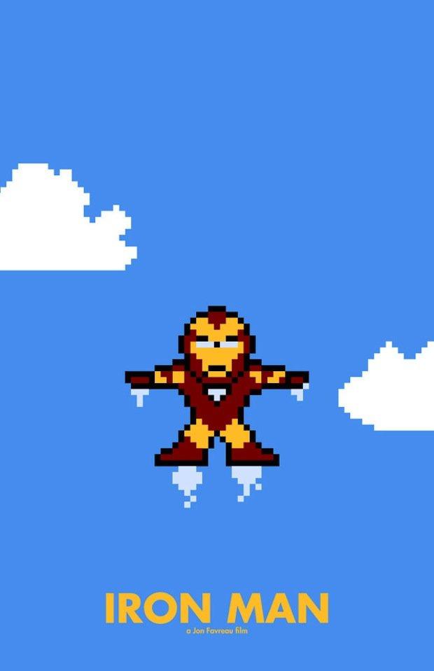 8-bit ironman