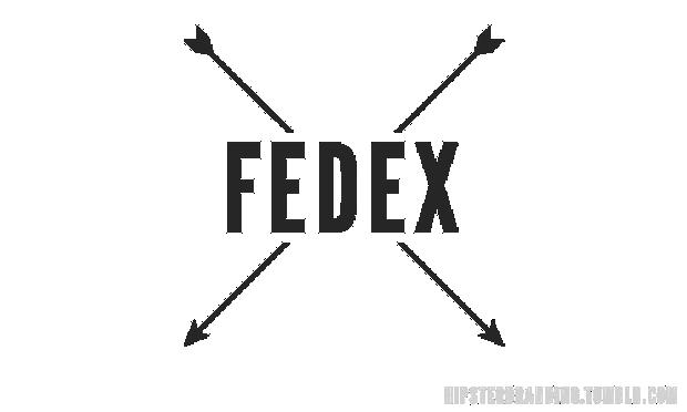 hipster fedex