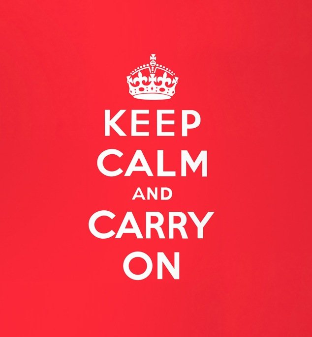 keep calm and carry on mashup