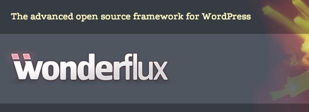 Wonderflux: WordPress Open Source Framework