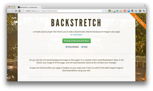 Dynamically-Resize Background Image On Any Page - ChurchMag
