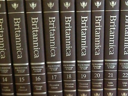 Stop the Presses!: The Encyclopedia Britannica Goes Digital