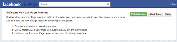 Designing for the New Look of Facebook Pages