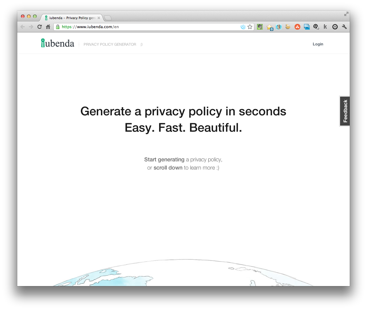 Quick & Easy Website Privacy Policy Generator