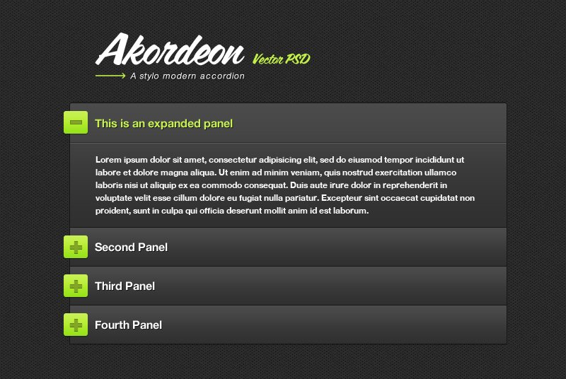 Akordeon: A Stylish jQuery Accordion Plugin
