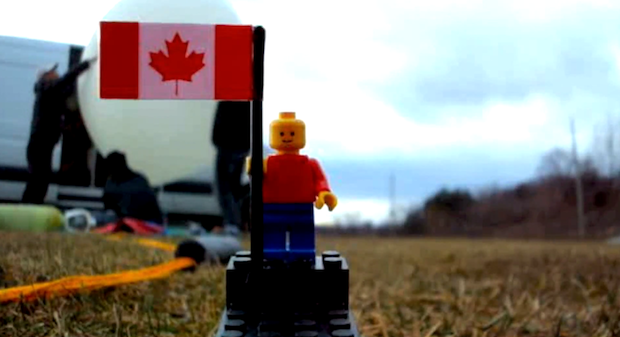 Teens Send LEGO Man to Space [Video]
