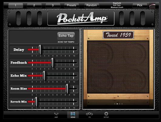 Using an App as a Guitar Amp