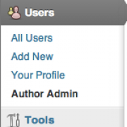 Improved Author Administration For WordPress