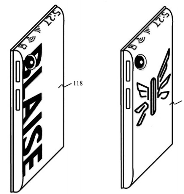 Microsoft Patents a Display for the Back of Your Phone