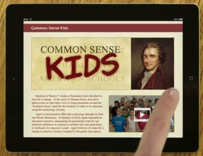 ipad classroom digital textbooks