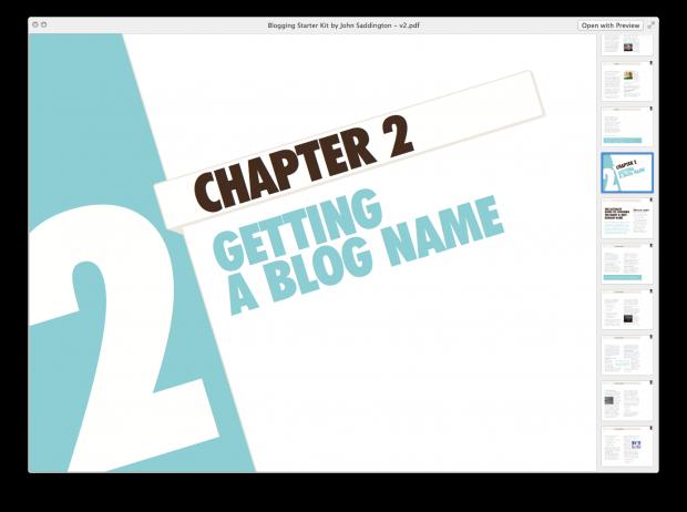 tentblogger blogger blogging starter kit ebook