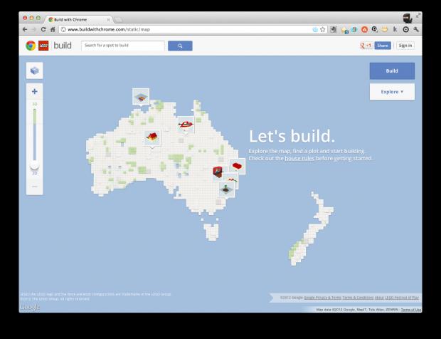 lego google chrome build