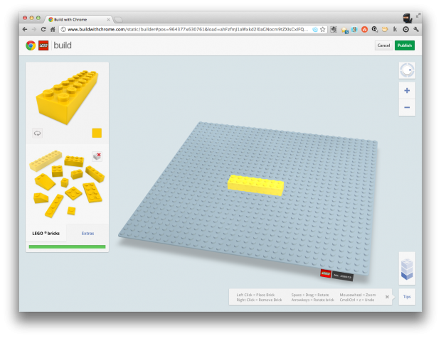 Web Address To Build Lego On Google Maps