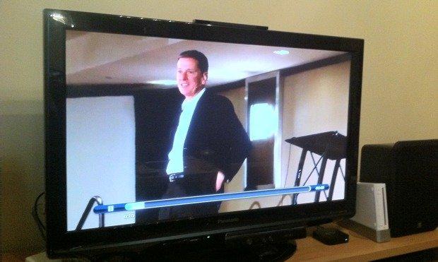iPad streaming video via Apple TV