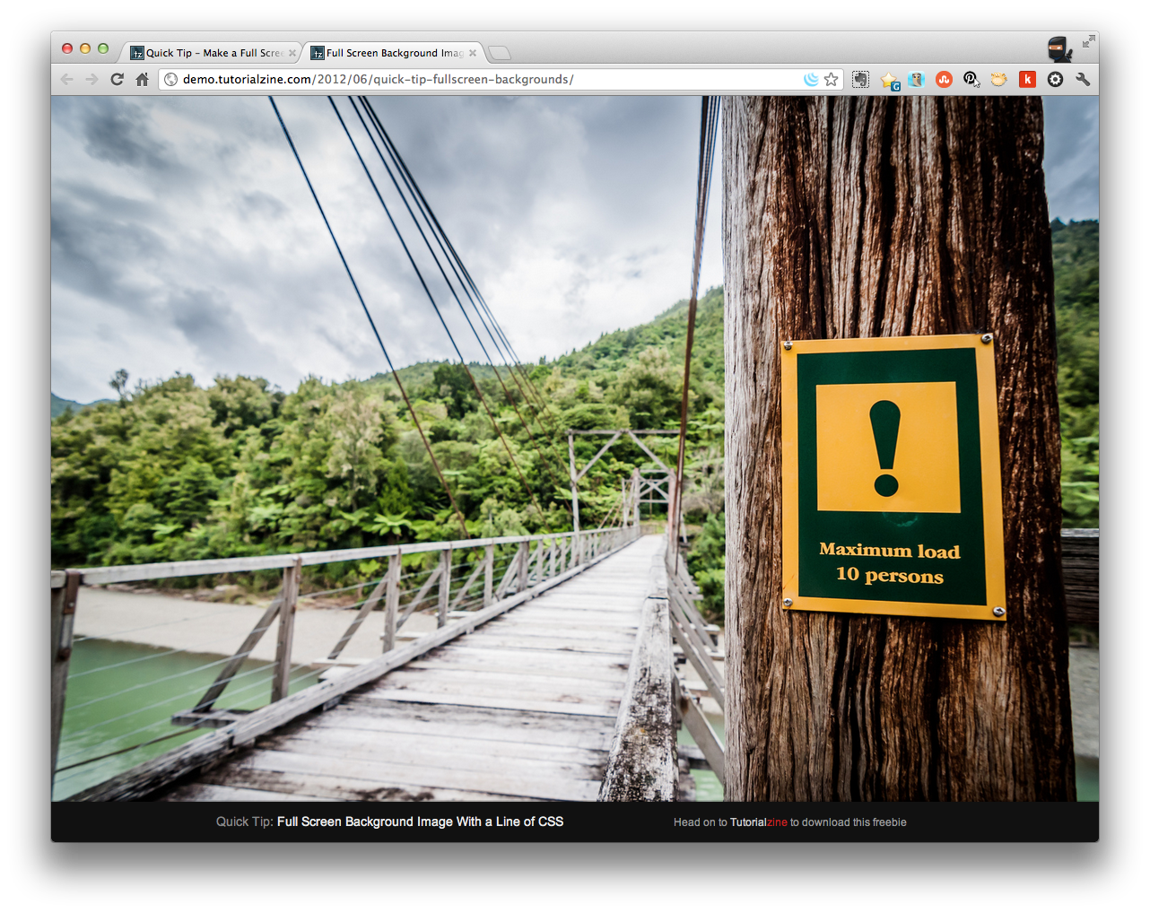 Make a Full Screen Image Background with CSS - ChurchMag